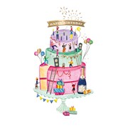 Party Cake Card (CISE1084)