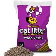 Cjs Premium Wood Pellet Cat Litter 30l