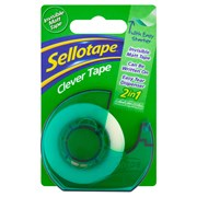 Sellotape Clever Tape with Dispenser 18mm x 25m (1766010)