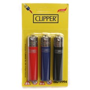 Clipper 3 Pack Lighters (CL116UKH)