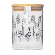 Doodle Plant Glass Jar 650ml (CM07282)