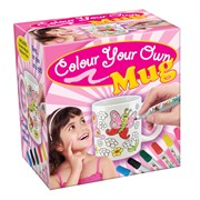 Colour Your Own Flower Mug (70209)