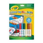 Crayola Colour By Numbers with Markers (03.7321.199)