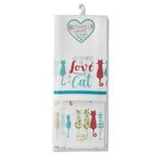 Cooksmart Tea Towels - Colourful 2pk (1437)