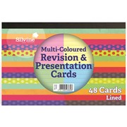 Revision & Presentation Cards Coloured 48s (CR50AC)