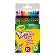 Crayola 10 Twistable Pencils (68-7415-E-000)
