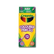 Crayola 12 Coloured Pencils (256245.324)