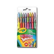 Crayola 24 Mini Twistable Special Effect Crayons (52-9824)