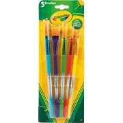 Crayola 5 Assorted Paintbrushes (300700)