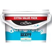 Crown Matt Emulsion Magnolia 7.5l (5040206)