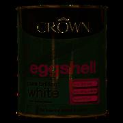 Crown Eggshell Brilliant White 750ml (5062672)