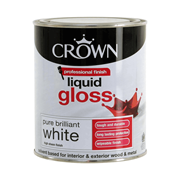 Crown Liquid Gloss Brilliant White 750ml (5026735)