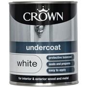Crown Undercoat Brilliant White 750ml (5026910)