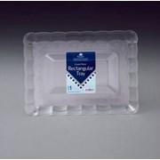 Crystal Rectangular Tray 23x33cm (PCRYTR)