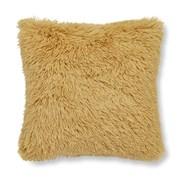 Catherine Lansfield Cuddly Cushion Ochre 45cm