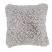 Catherine Lansfield Cuddly Cushion Silver 45cm