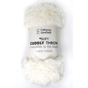 Catherine Lansfield Cuddly Throw Cream 200cm