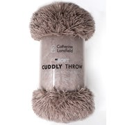 Catherine Lansfield Cuddly Throw Natural 150x200 (DS/32263/W/150200/NT)
