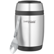 Thermos Thermocafe Curved Food Flask And Spoon 400ml (190525)