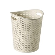 Curver My Style Paper Bin Vintage White (220373)