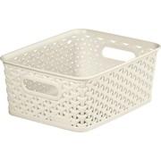 Curver Rattan Basket White 03610 8lt (196859)