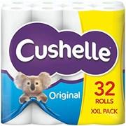 Cushelle Toilet Roll - White 32pk (6298)