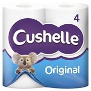Cushelle Toilet Roll White 4roll