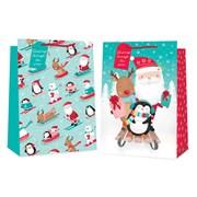 Cute Sledging Characters Gift Bag Jumbo (2866)