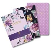 Design By Violet Garden Of Eden Notebooks A4 3pack (DBV-53-3A4)