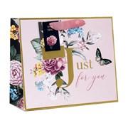 Design By Violet English Rose Shopper Gift Bag Medium (DBV-54-MS)