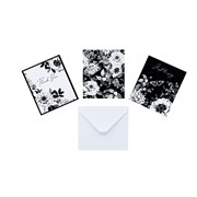 Design By Violet Botanical Etchings Notecards 12s (DBV-57-12NC)