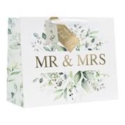 Design By Violet Mr & Mrs Shopper Gift Bag Large (DBV-82-LS)