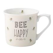 David Mason Design Bee Happy Bee Happy Mug Cream (DD0909D02)