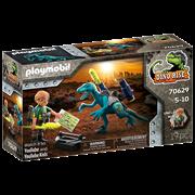 Playmobil Dino Rise Deinonychus: Ready for Battle (70629)