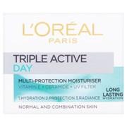 Loreal Tripe Active Day Normal-combination Moisturiser 50ml (719596)