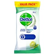 Dettol Anti Bac Wipes Lime & Mint 72s (RB798355)