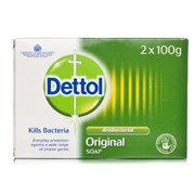 Dettol Antibac Soap Twin Pack 100g (RB763872)