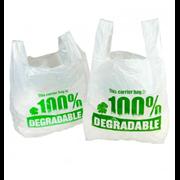 Degradable Eco Vest Carrier 100s (DGVEC03)