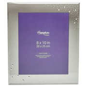 Diamante Smoke Glass Frame With Crystals 8x10 (DIA80SMK)