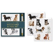Dogs Notecard & Pen Set (RFS13309)