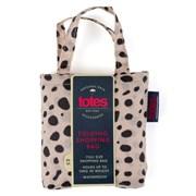 Totes Isotoner Totes Bag In Bag Dotty Animal Print Shopper (2571JNF)