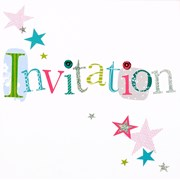 Simon Elvin Open Invitation Cards 6's (DP-202)