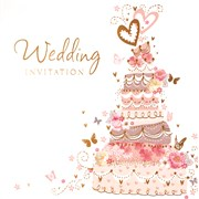 Simon Elvin Wedding  Invitation Cards (DP-266)