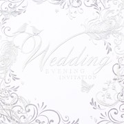 Simon Elvin Wedding Evening Invitation Foil 6's (DP216)