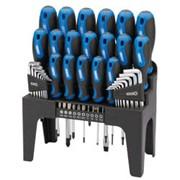 Draper Soft Grip Screwdriver Hex Key & Bit Set (81294)