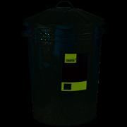 Draper Galvanised Dust Bin 85l (53254)