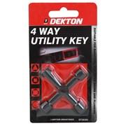 Dekton 4 Way Keys (DT30392)