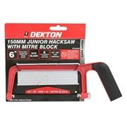 Dekton Junior 150mm Hacksaw with Mitre Block (DT45520)