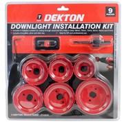 Dekton 9 Piece Downlight Installation Kit (DT45840)