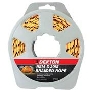Dekton 4mm x 20m Braided Rope (DT70630)